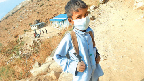 Community schools in Kalikot resume classes amid ongoing COVID-19