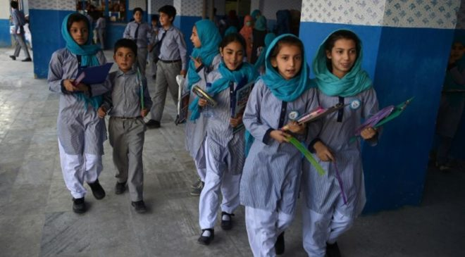 A number of schools reopen in Afghanistan: education ministry